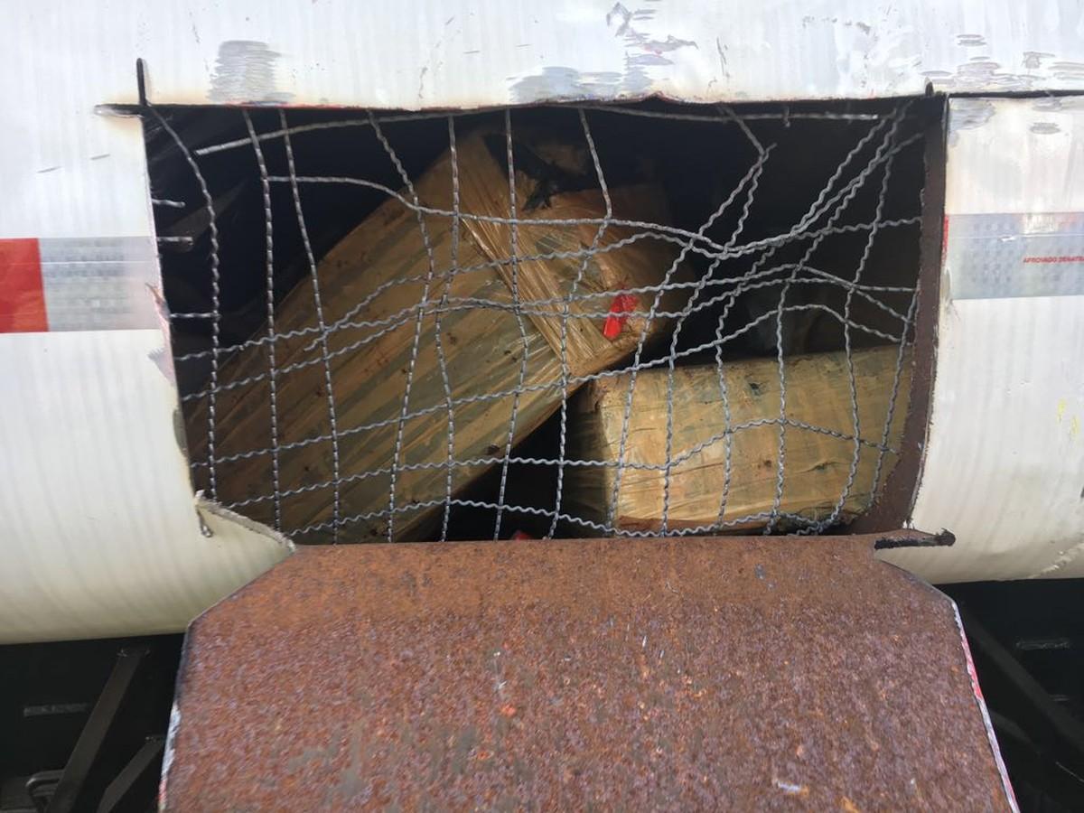 Jovem é preso em MS ao transportar 3,5 t de maconha em caminhão de empresa de óleo vegetal