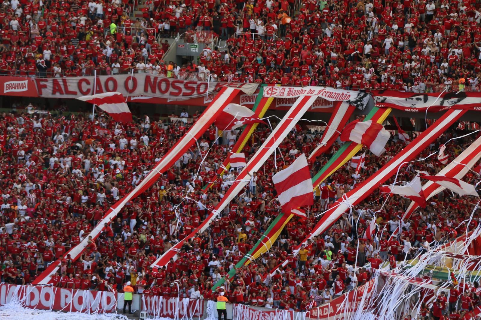 Sócios do Inter terão acesso gratuito em despedida da Série B no Beira-Rio