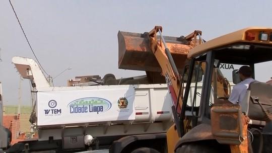 Cidade Limpa recolhe 30 toneladas de materiais sem uso em Bento de Abreu