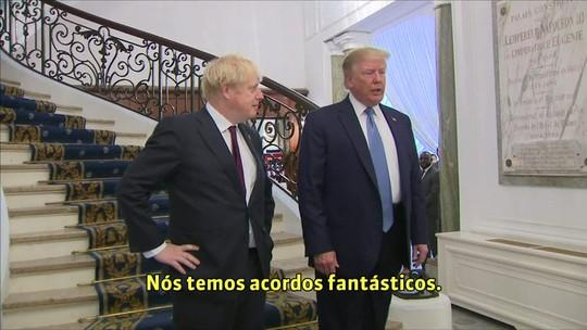 Boris Johnson afirma que chances de Brexit com acordo 'estão melhorando'