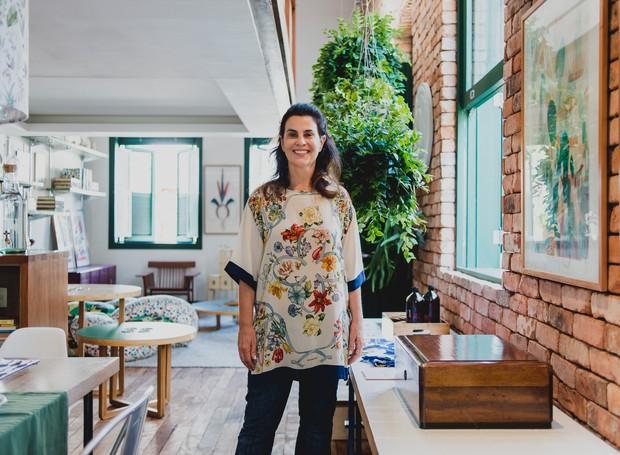 """A arquiteta Leila Bittencourt, apresentadora do programa """"Lugar de Criança"""" no seu novo Casa OBA  (Foto:  Divulgação )"""