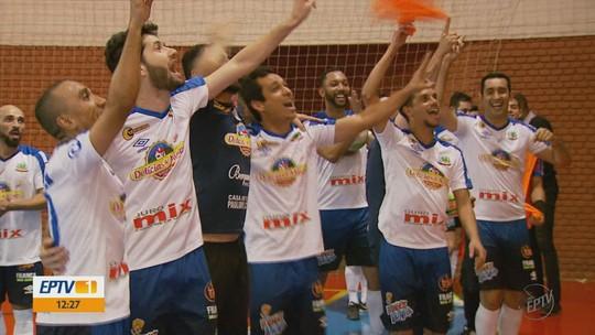 Andradas goleia Monte Santo de Minas e é a 1ª finalista da Taça EPTV de Futsal 2018