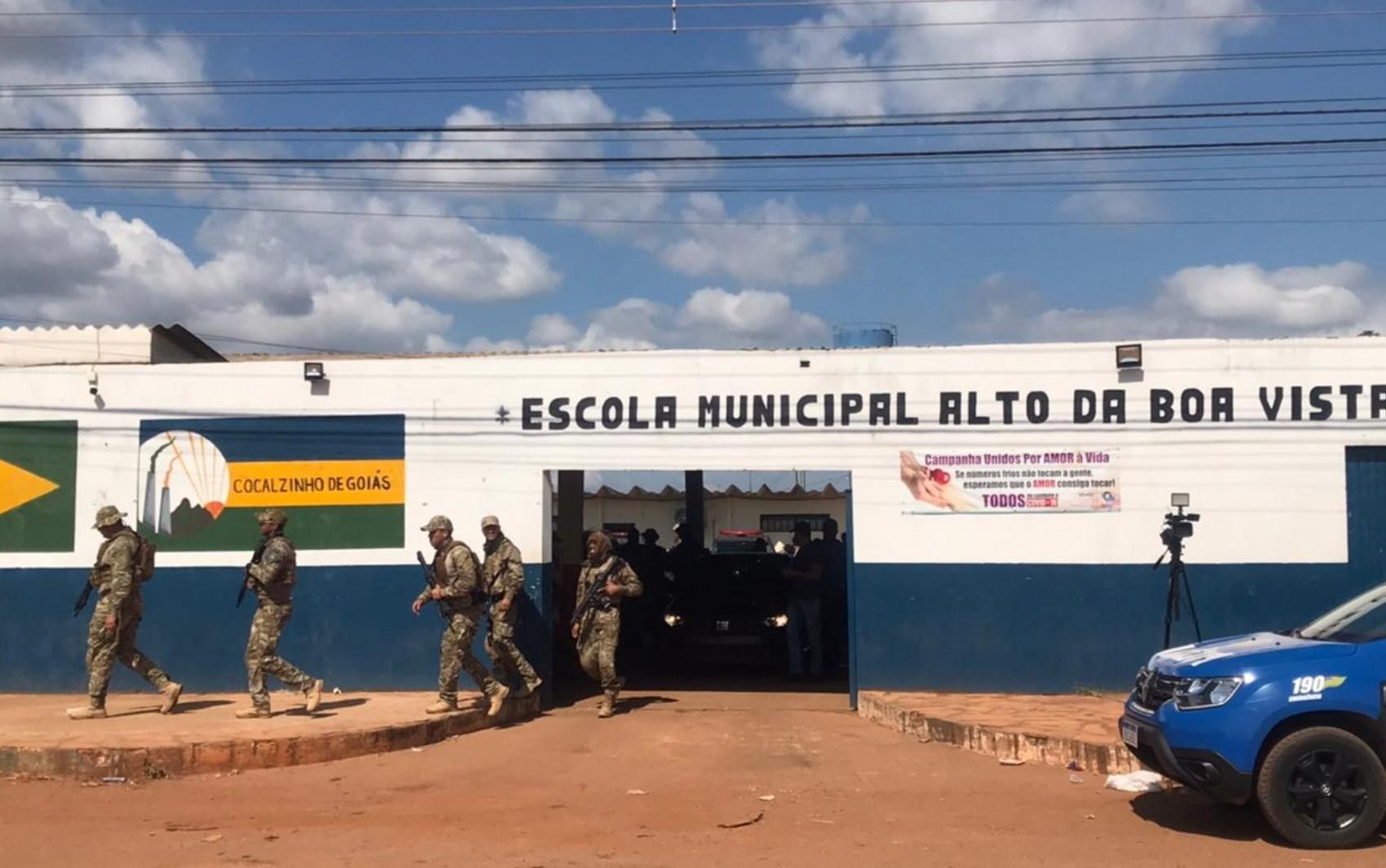 Força-tarefa que busca Lázaro prende jovem suspeito de se passar por policial, em Cocalzinho de Goiás