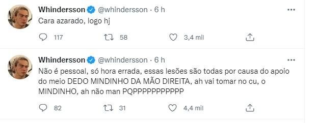 Whindersson Nunes (Foto: Reprodução/Twitter)