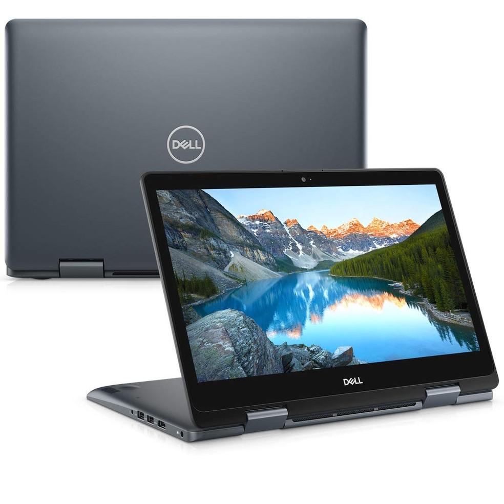 """Dell Inspiron Ultrafino também é tablet e tem tela touchscreen de 14""""  — Foto: Divulgação"""