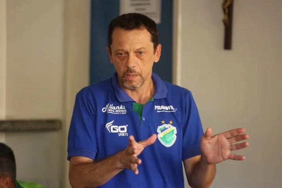 Fernando Tonet, ex-técnico do Altos — Foto: Foto: Luís Júnior