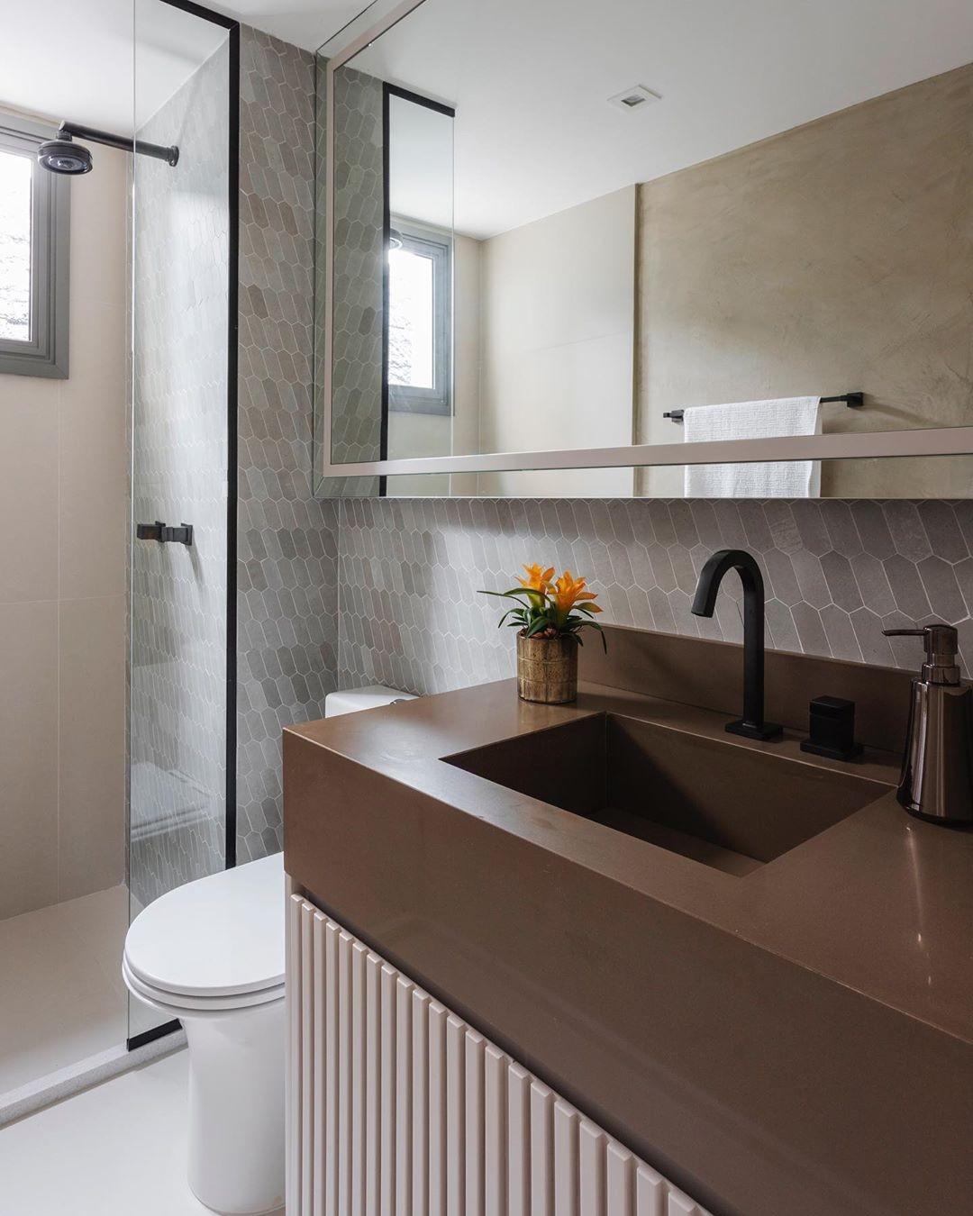 Como decorar banheiro: ideias e dicas para não errar (Foto: Thiago Travesso)