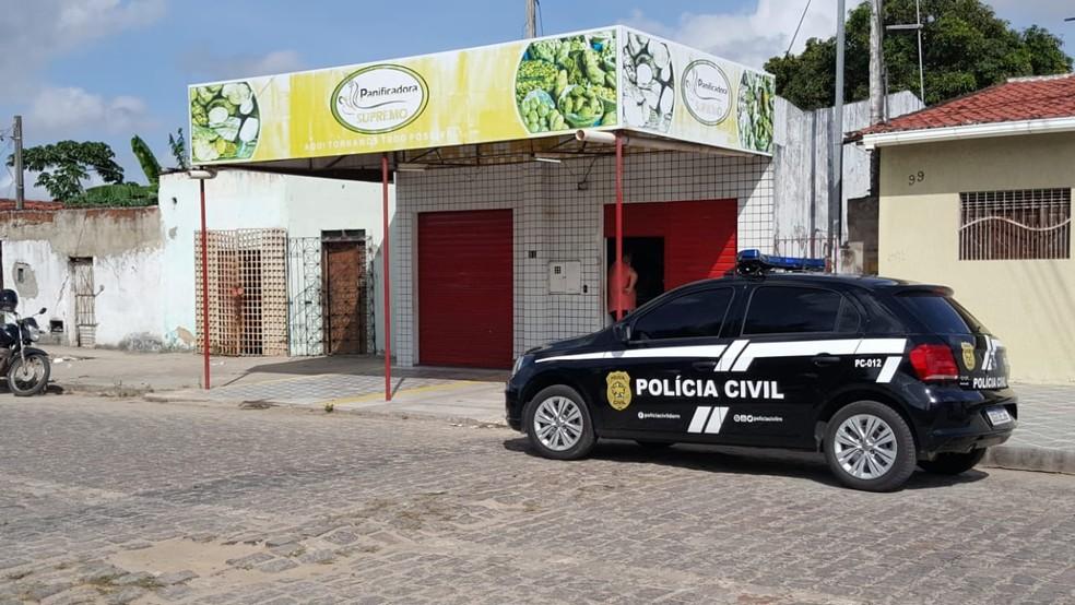 Padeiro foi assassinado enquanto trabalhava em Parnamirim, na Grande Natal — Foto: Sara Cardoso/Inter TV Cabugi