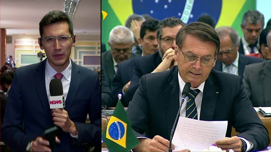 Banco do Brics: Bolsonaro diz que é preciso superar 'desequilíbrio em desfavor do Brasil'