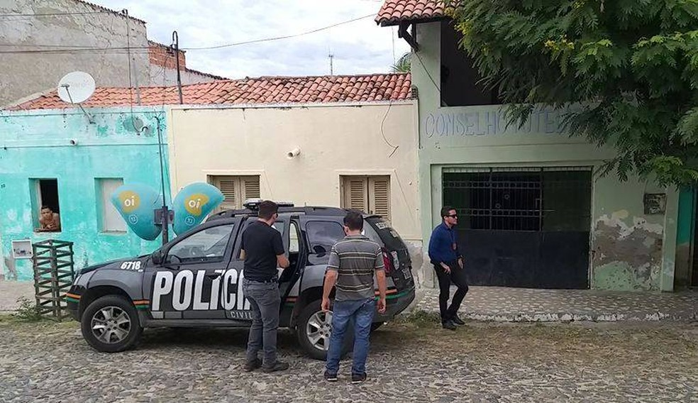 Conselho Tutelar de Choró, no Ceará. — Foto: Divulgação