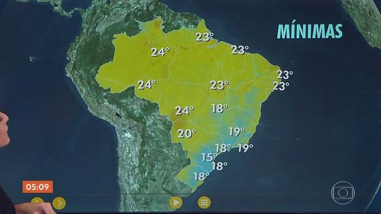 Previsão é de chuva em pontos isolados do RJ nesta sexta (16)