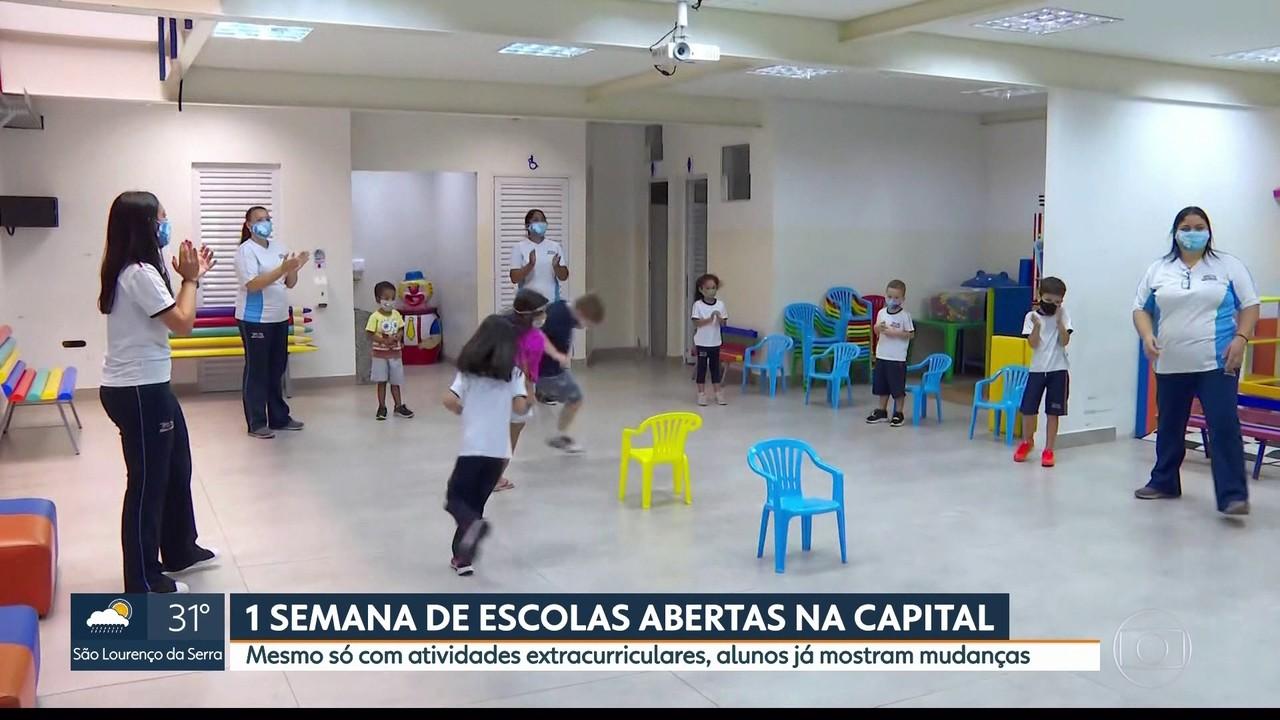 Especialistas comentam abertura de escolas para atividades de reforço na capital