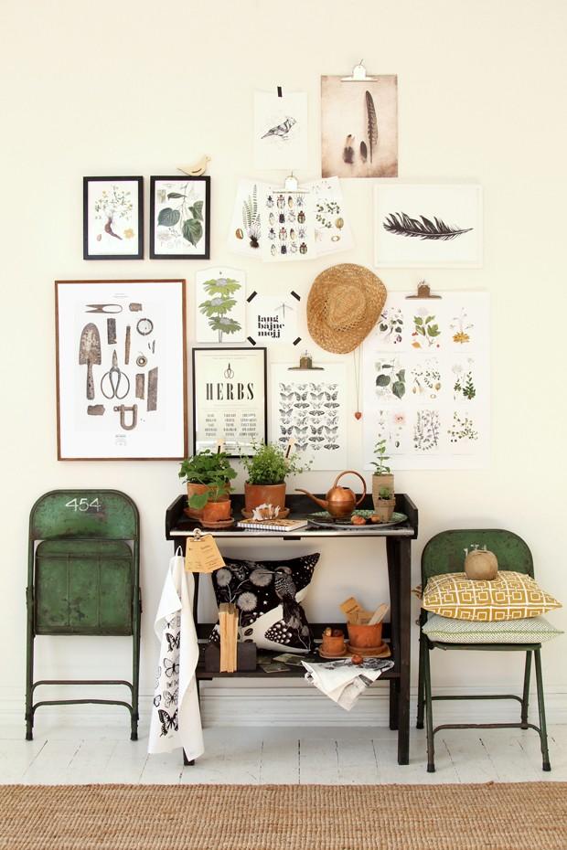 Quadros botânicos (Foto:  )