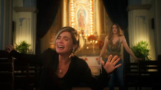 Flávia Alessandra fala da emoção de gravar o reencontro de Helena e Luna em 'Salve-se Quem Puder': 'Me deu uma coisa de soluçar, chorar'