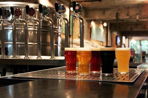 Diferentes receitas de cerveja artesanal