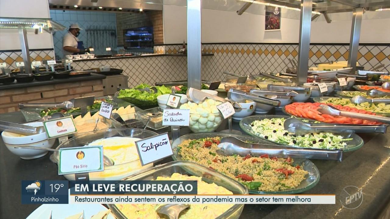 Restaurantes de Campinas têm metade do faturamento médio após três semanas de fase verde