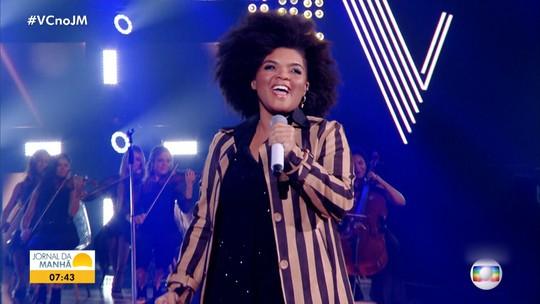 The Voice Brasil: cantora de Valença chega longe, mas não garante vaga na final
