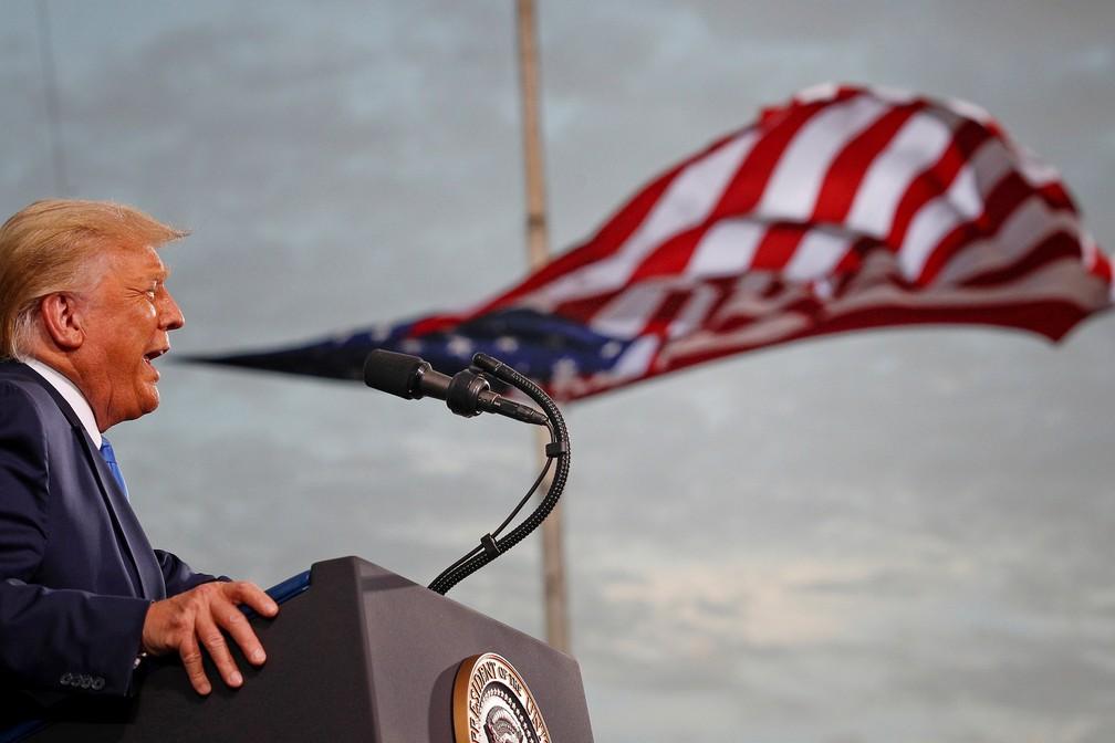 Suprema Corte dos EUA rejeita recurso eleitoral de Trump na Pensilvânia — Foto: Tom Brenner/Reuters