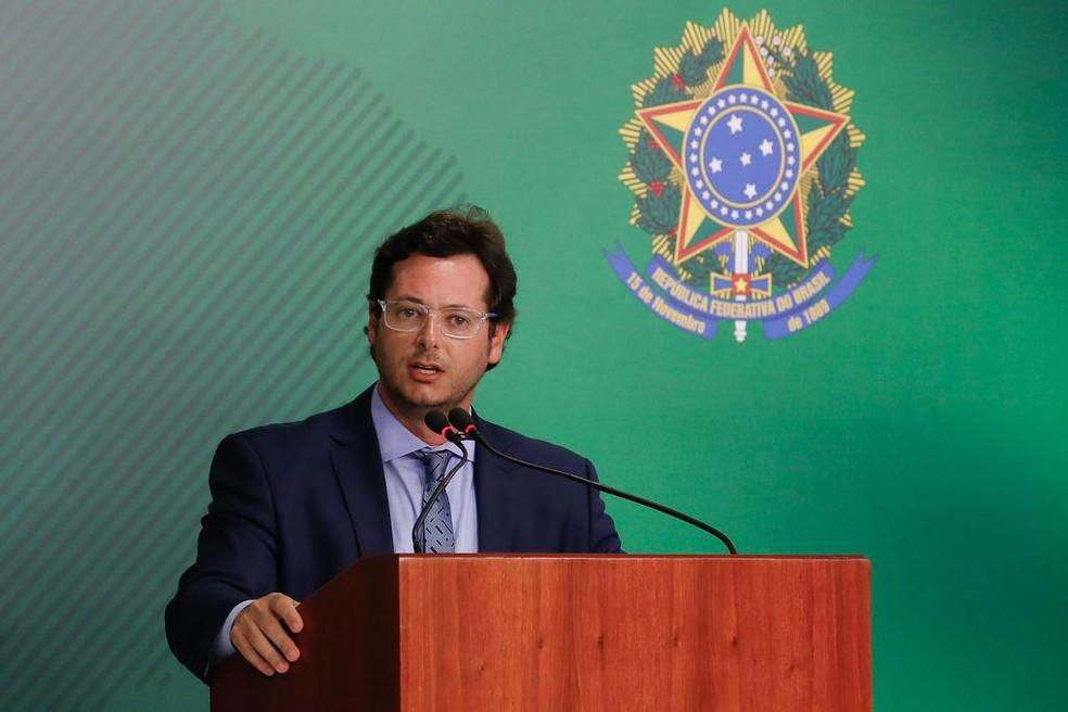 Secretario Especial de Comunicação Social, Fábio Wajngarten — Foto: Anderson Riedel/PR