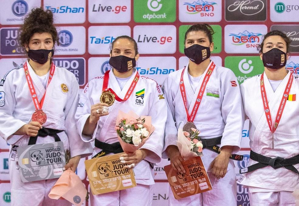 Maria Portela campeã Grand Slam de Tbilisi judô — Foto: IJF/Marina Mayorova