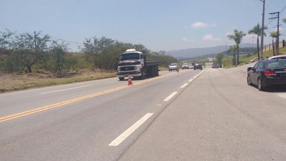 Segundo governador, objetivo principal da duplicação da Rodovia Presidente Dutra é reduzir acidentes (Foto: Maiara Barbosa/G1)