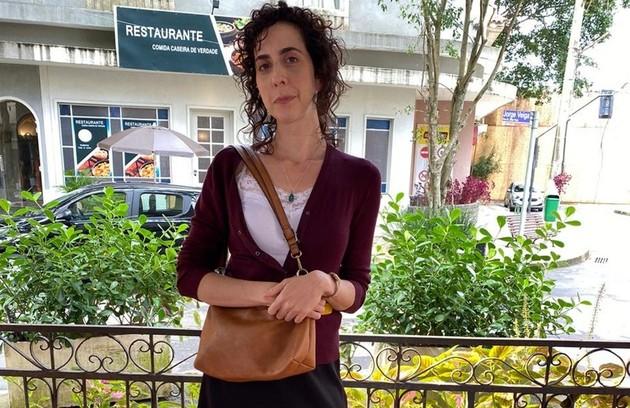 Intérprete da vingativa Verônica, Marianna Armellini interpretará agora também Marlene, gêmea bondosa e fogosa da vilã (Foto: TV Globo)