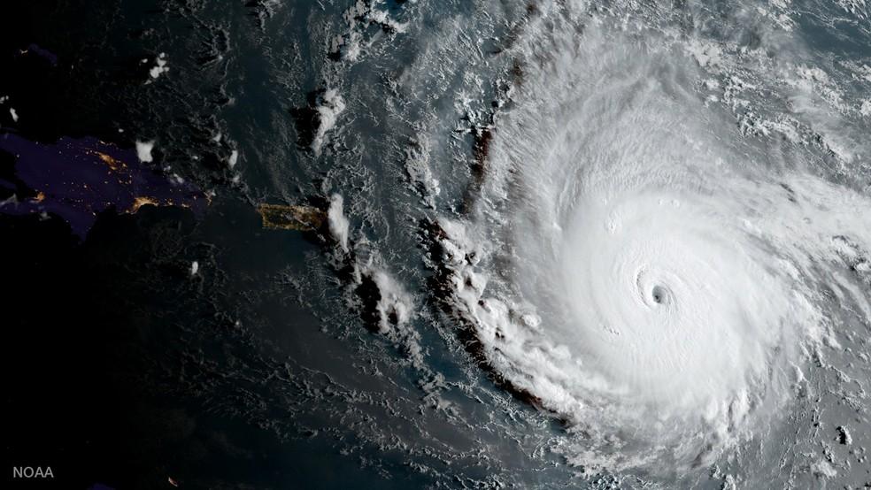 Furacão Irma (Foto: NOAA National Weather Service National Hurricane Center/Reuters)
