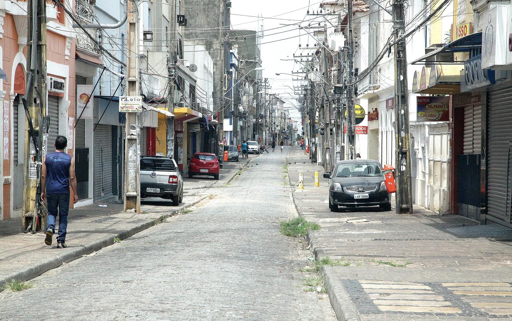 Governo estende suspensão do comércio por mais uma semana na Grande São Luís
