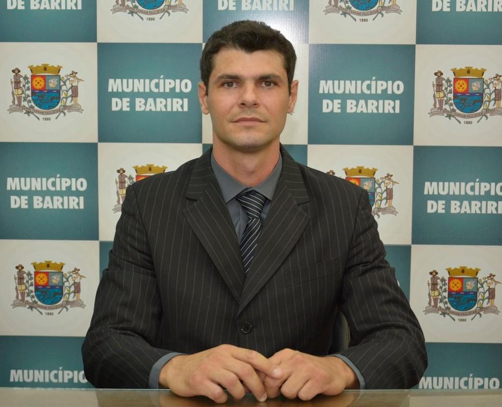 Paulo Henrique de Araújo (PSDB) é prefeito de Bariri desde janeiro de 2017 (Foto: Roberto Coletta/Arquivo pessoal)