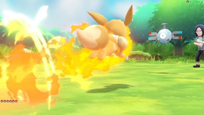 Eevee pode aprender golpes de quase todos os tipos (Foto: Divulgação/The Pokémon Company)