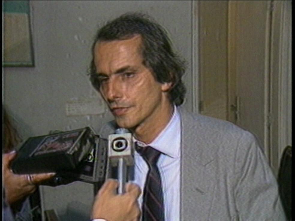 Mac Dowell exerceu a função de diretor do metrô carioca no começo da década de 1980. (Foto: Reprodução / TV Globo)