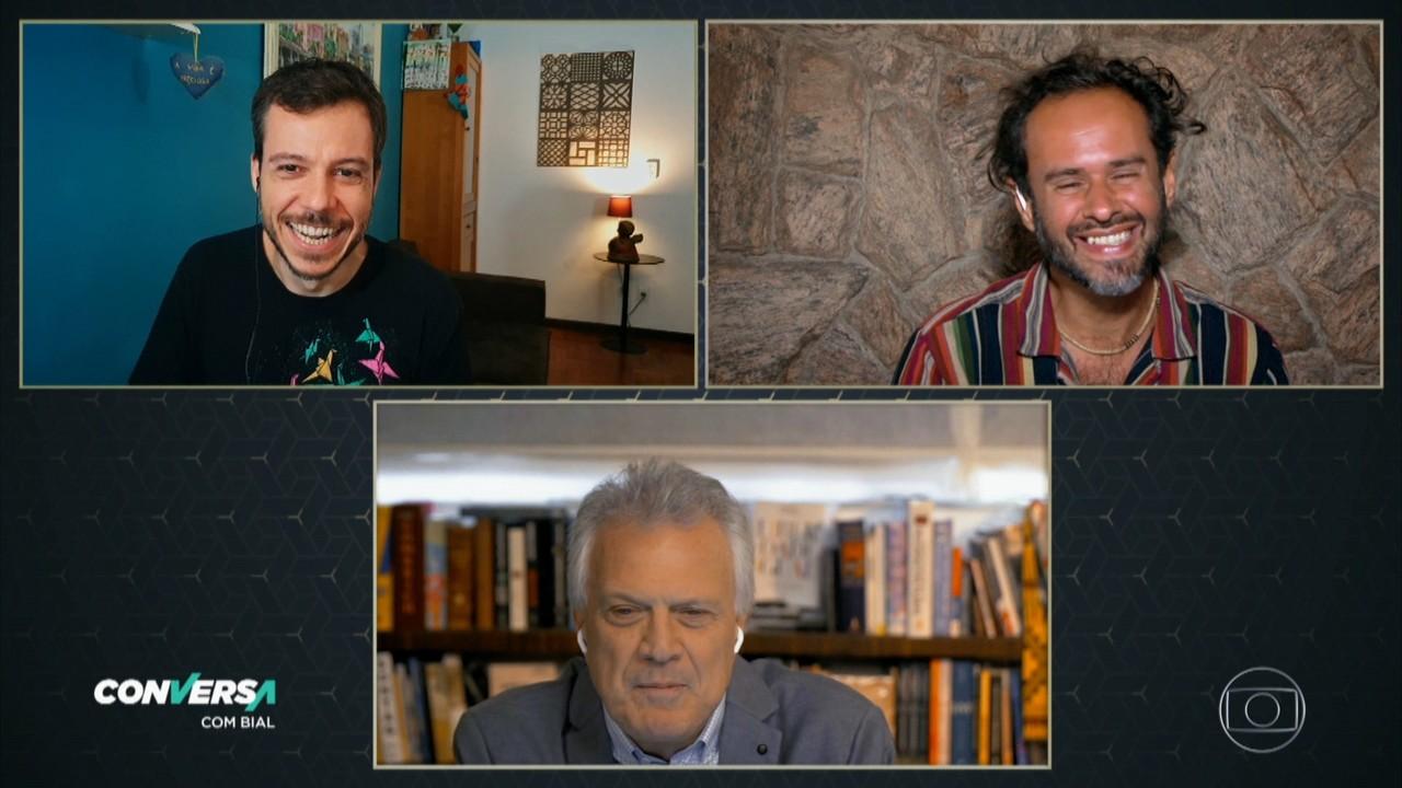 Marcelo Jeneci e João Cavalcanti mostram releituras de sucessos dos Novos Baianos