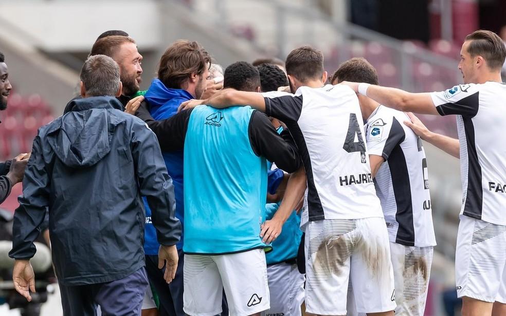 Lugano Vence A Primeira Na Liga Suica E Abel Braga Comemora Dara Confianca Futebol Internacional Ge