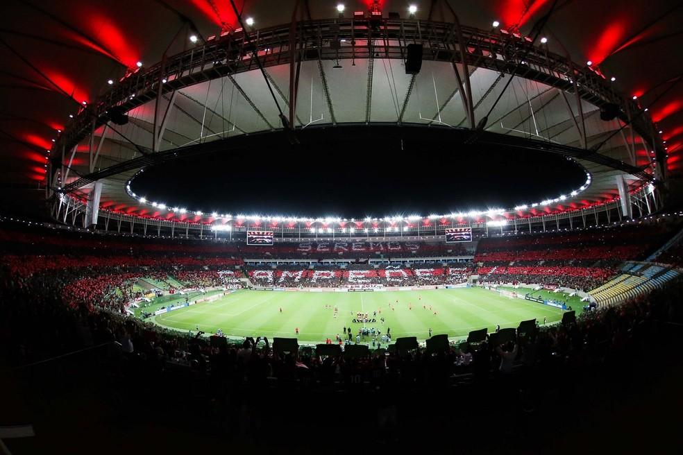 Com 90% da capacidade, torcida do Flamengo já esgotou os seus ingressos (Foto: Divulgação)