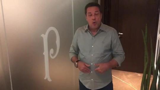 """Após acerto, Luxemburgo manda recado à torcida do Palmeiras: """"Nós vamos brigar por títulos"""""""