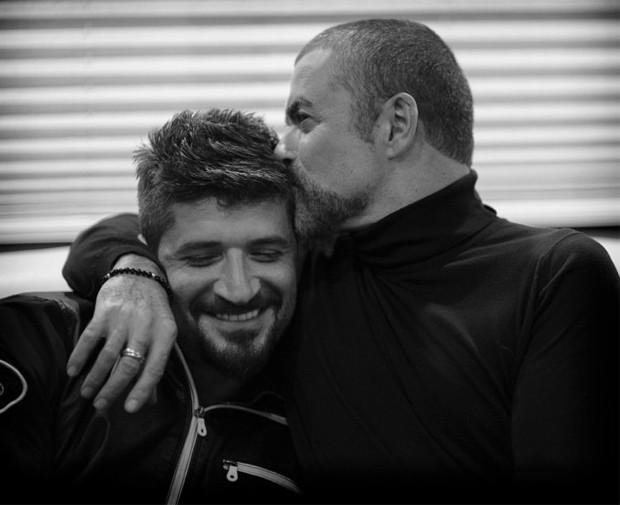 Fadi Fawaz e George Michael (Foto: Reprodução)