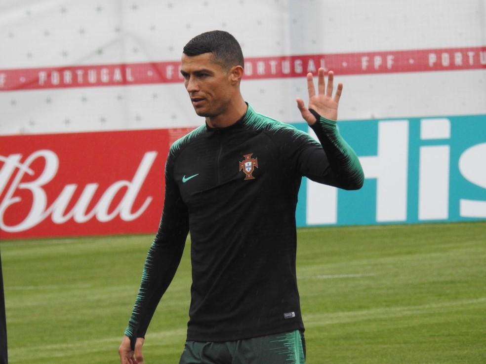 Cristiano Ronaldo vai atrás de quebrar tabu de nunca ter marcado contra a Espanha (Foto: Marcelo Hazan)