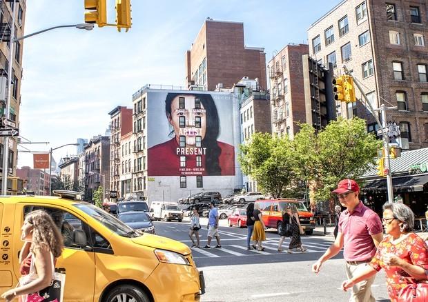 NY Art Wall (Foto: Divulgação/ Colossal Media)
