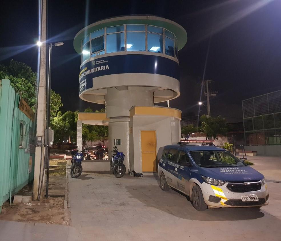 Ocorrência foi realizada pela Guarda Municipal de Fortaleza — Foto: Rafaela Duarte/SVM