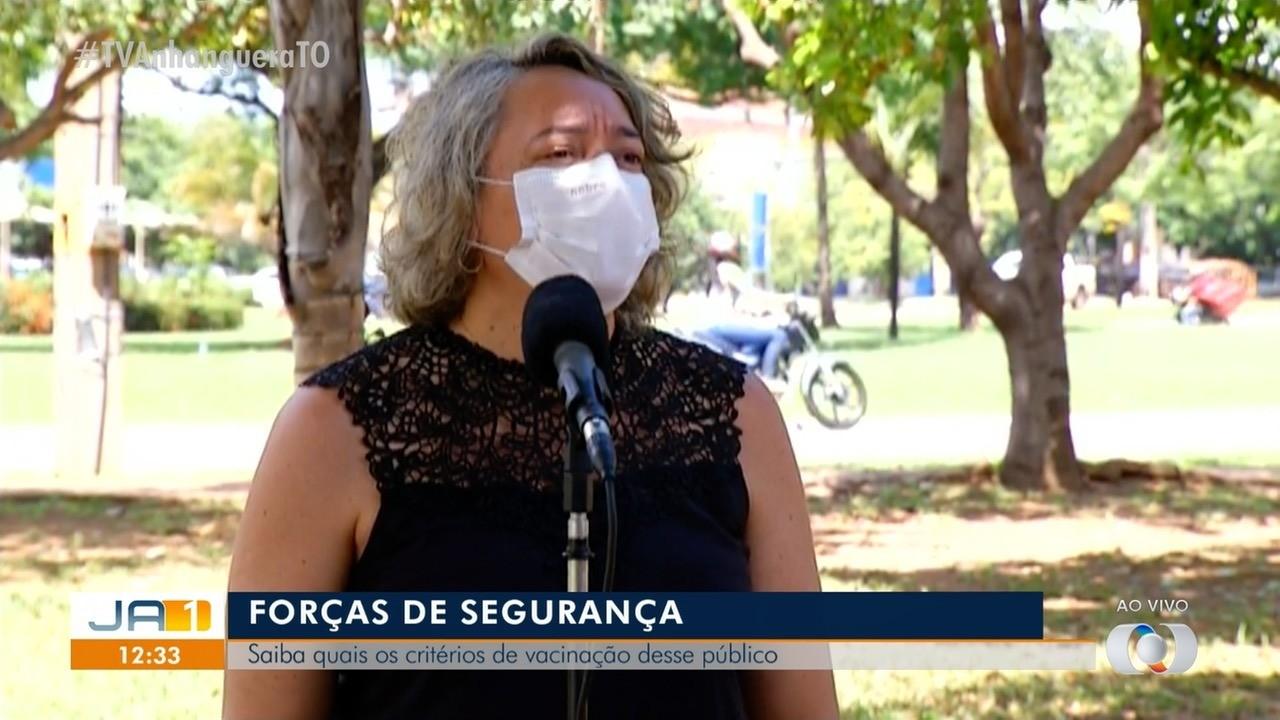 Equipes de segurança que fiscalizam medidas em Palmas serão prioridade na vacinação