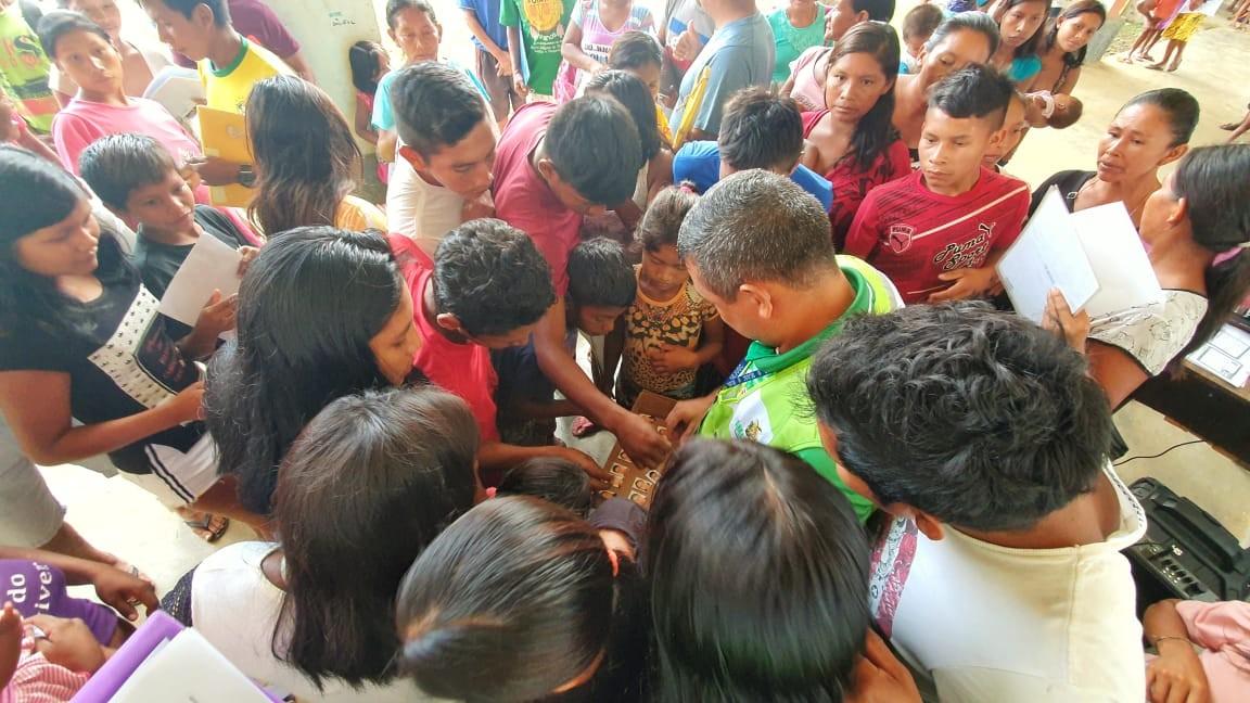 Mais de 6 mil indígenas recebem documentação básica em São Gabriel da Cachoeira, no AM - Notícias - Plantão Diário