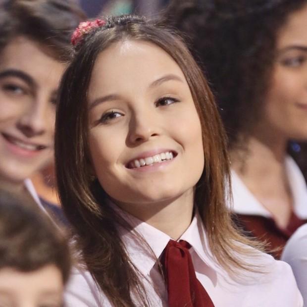 Larissa Manoela caracterizada com Mirela, sua personagem em 'As Aventuras de Poliana' (Foto: Manuela Scarpa/Brazil News)