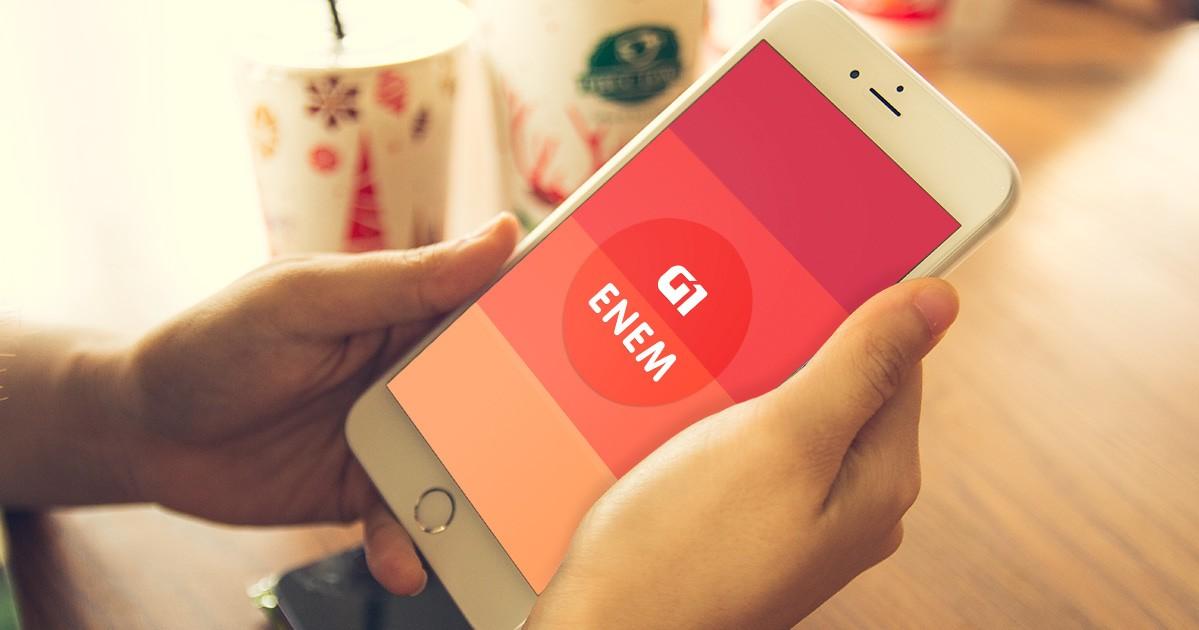 Veja como usar o app G1 Enem - Notícias - Plantão Diário