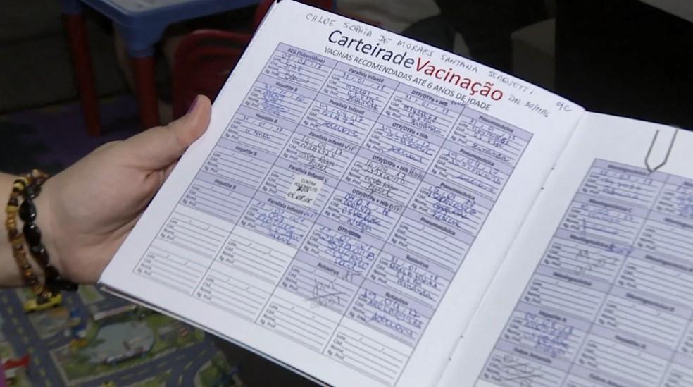 Campinas vai integral mapeamento do Ministério da Saúde sobre cobertura vacinal em crianças — Foto: Reprodução/EPTV