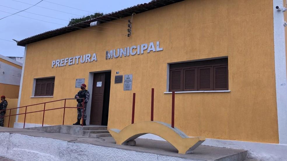 """Operação """"Combustão II"""" é deflagrada pelo MP no município de Angicos — Foto: Cedida / MPRN"""