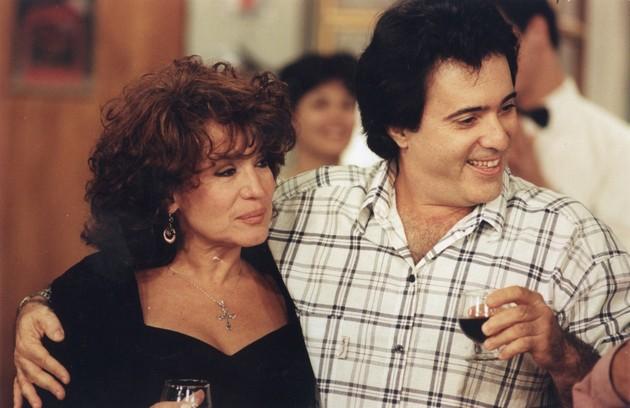 Susana Vieira e Tony Ramos em cena de 'A próxima vítima': autor é fã da novela de Silvio de Abreu, exibida em 1995 (Foto: Arquivo)