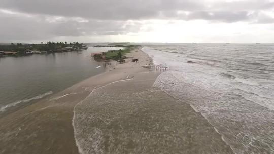 Capitania dos Portos emite alerta de ressaca no litoral de AL pela 5ª vez seguida