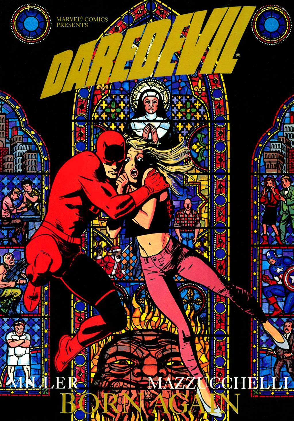 Novos episódios podem ser baseados no arco Born Again dos quadrinhos do Demolidor (Foto: Divulgação)