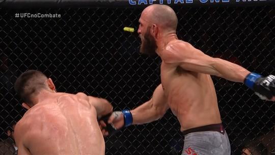 Melhores momentos de Makhmud Muradov x Trevor Smith no UFC Washington.