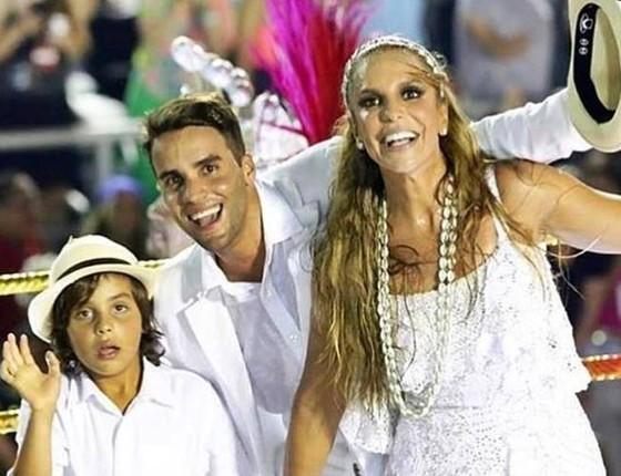 Marcelo, Ivete e Daniel: tudo leva a crer que família da cantora pode aumentar em breve  (Foto: Divulgação)